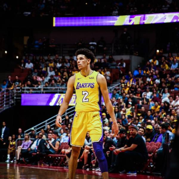 Lonzo Ball | Los Angeles Lakers | Dreamers Athletics