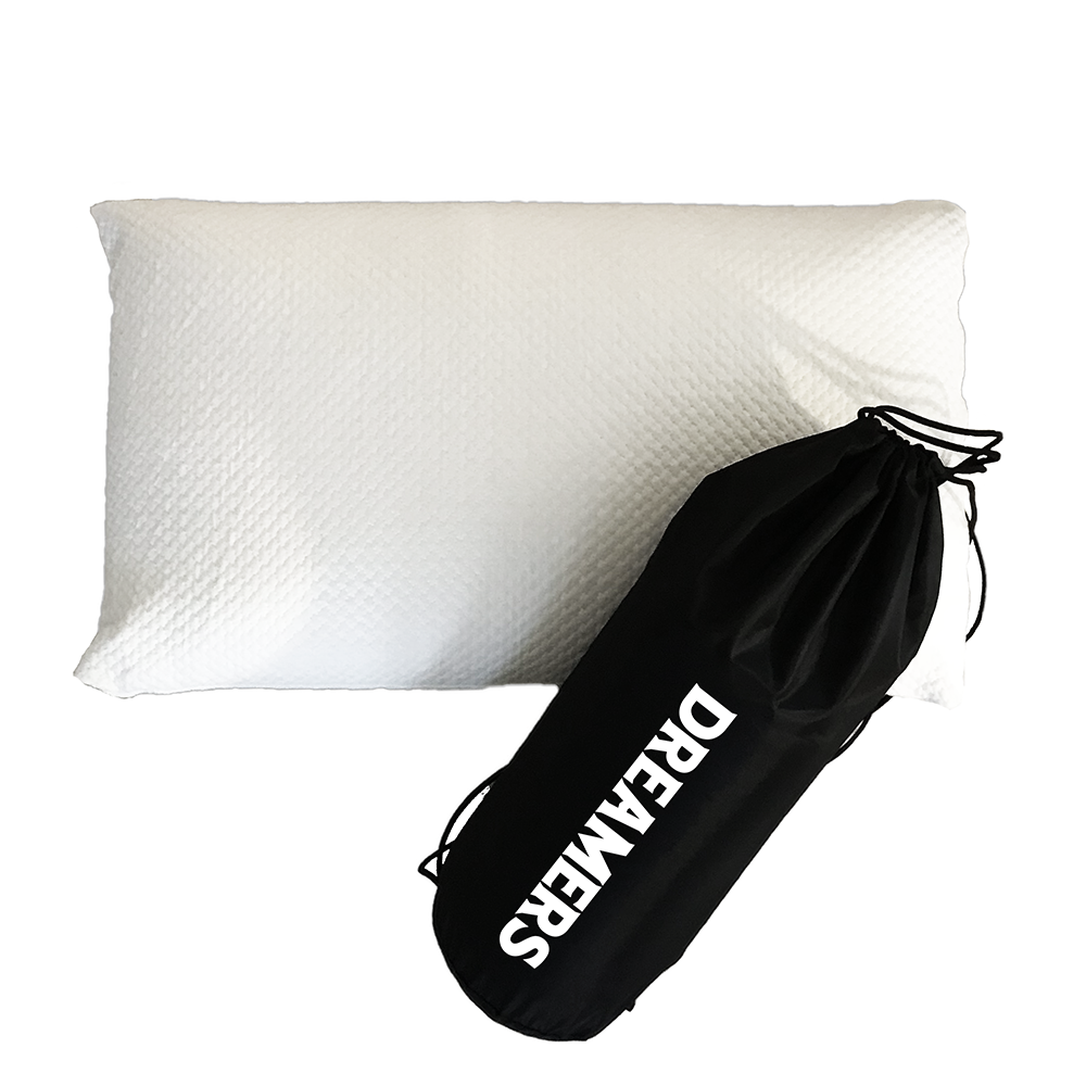 Pillow & Carrying Case - Travel Pillow for Athletes