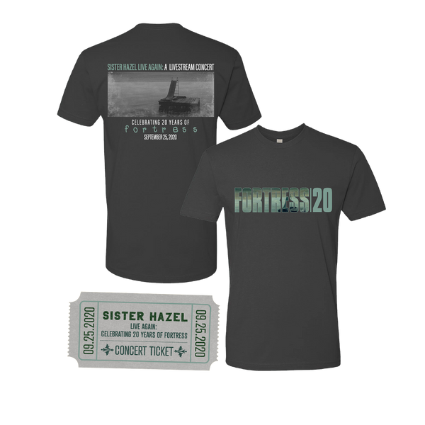 Live Again Livestream Ticket + Commemorative Fortress T-Shirt