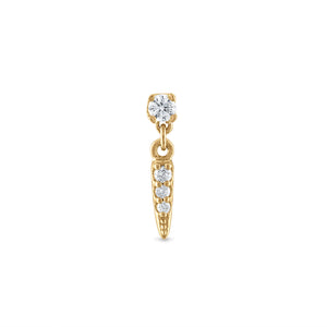 Dangle Diamond Spike Stud