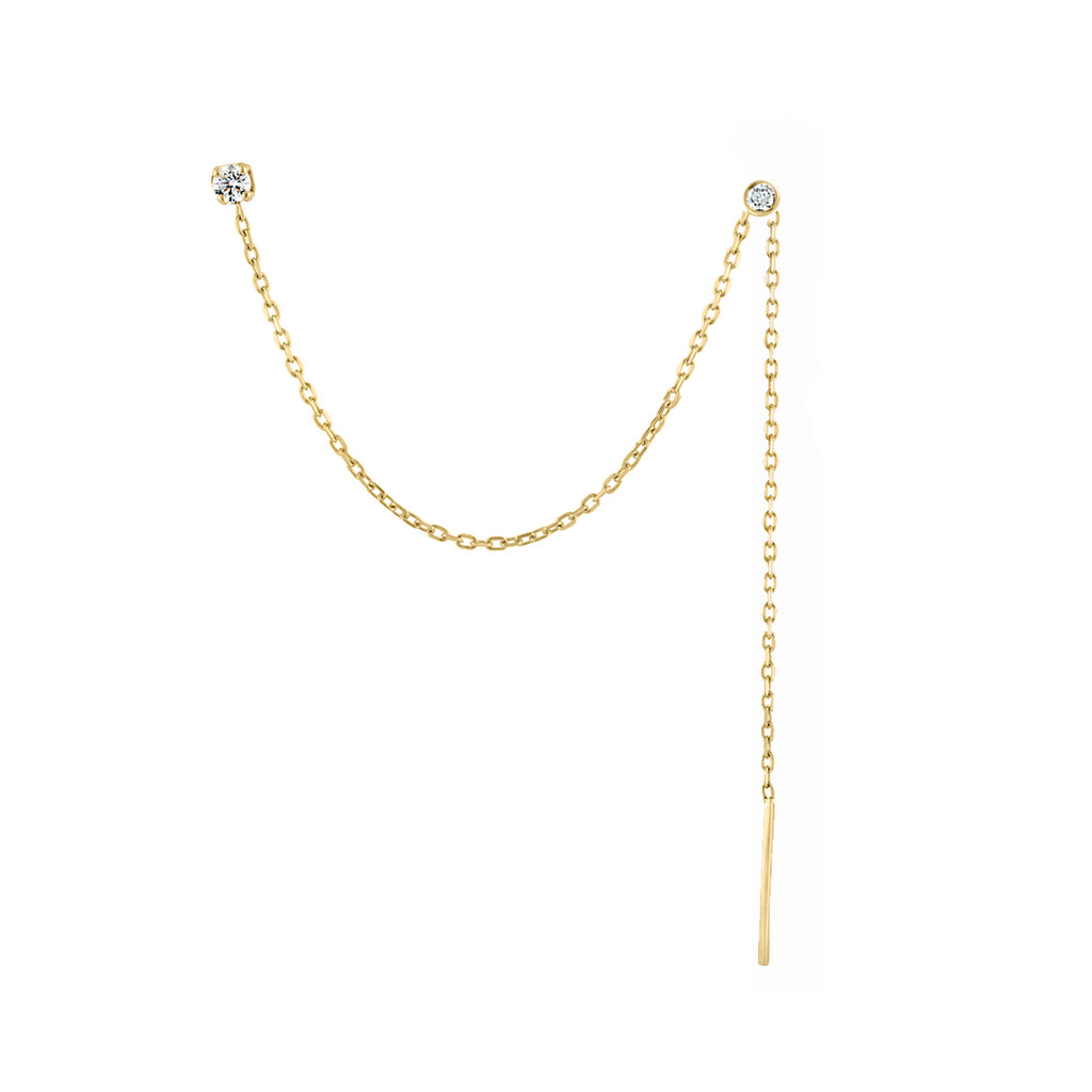 Shoulder Duster Chain Earring