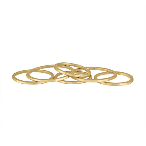 Thin Stack Rings