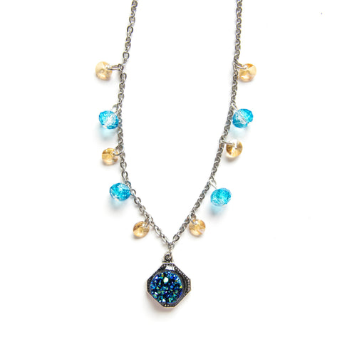 Myth Necklace Blue