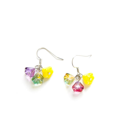 Candylicious Flower Silver Earring Fruity