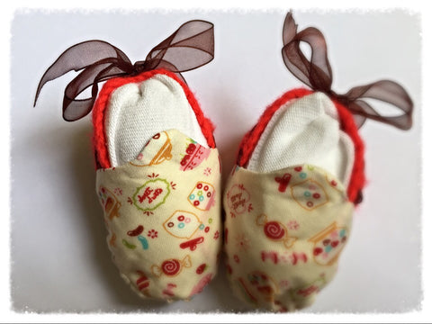 Baby Booties - candy