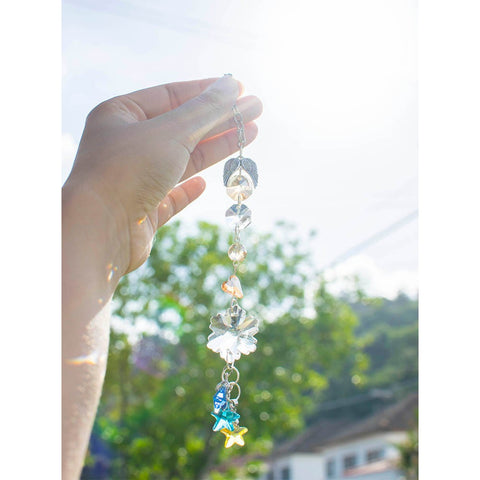 Angel from the Star Sun Catcher/Bag Charm