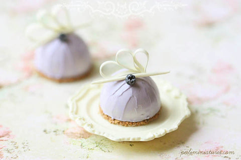 Lavender Dome Dessert - ONE PIECE