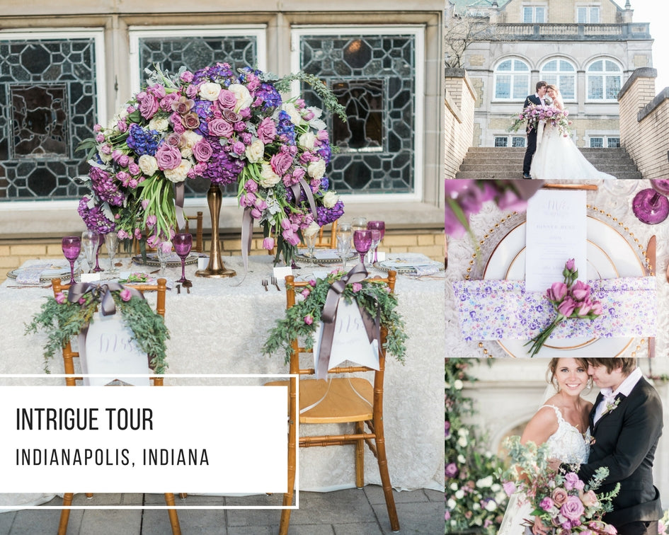 Intrigue Tour: Indianapolis, Indiana Styled Shoot