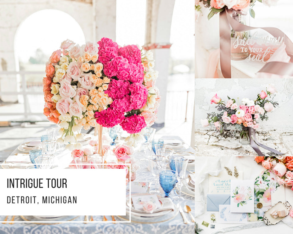 Intrigue Tour: Detroit, Michigan Styled Shoot