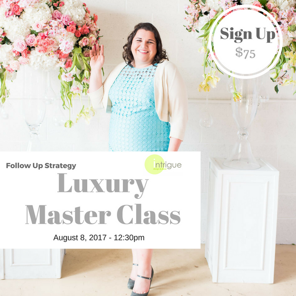 14. Luxury Master Class : Follow Up Strategy