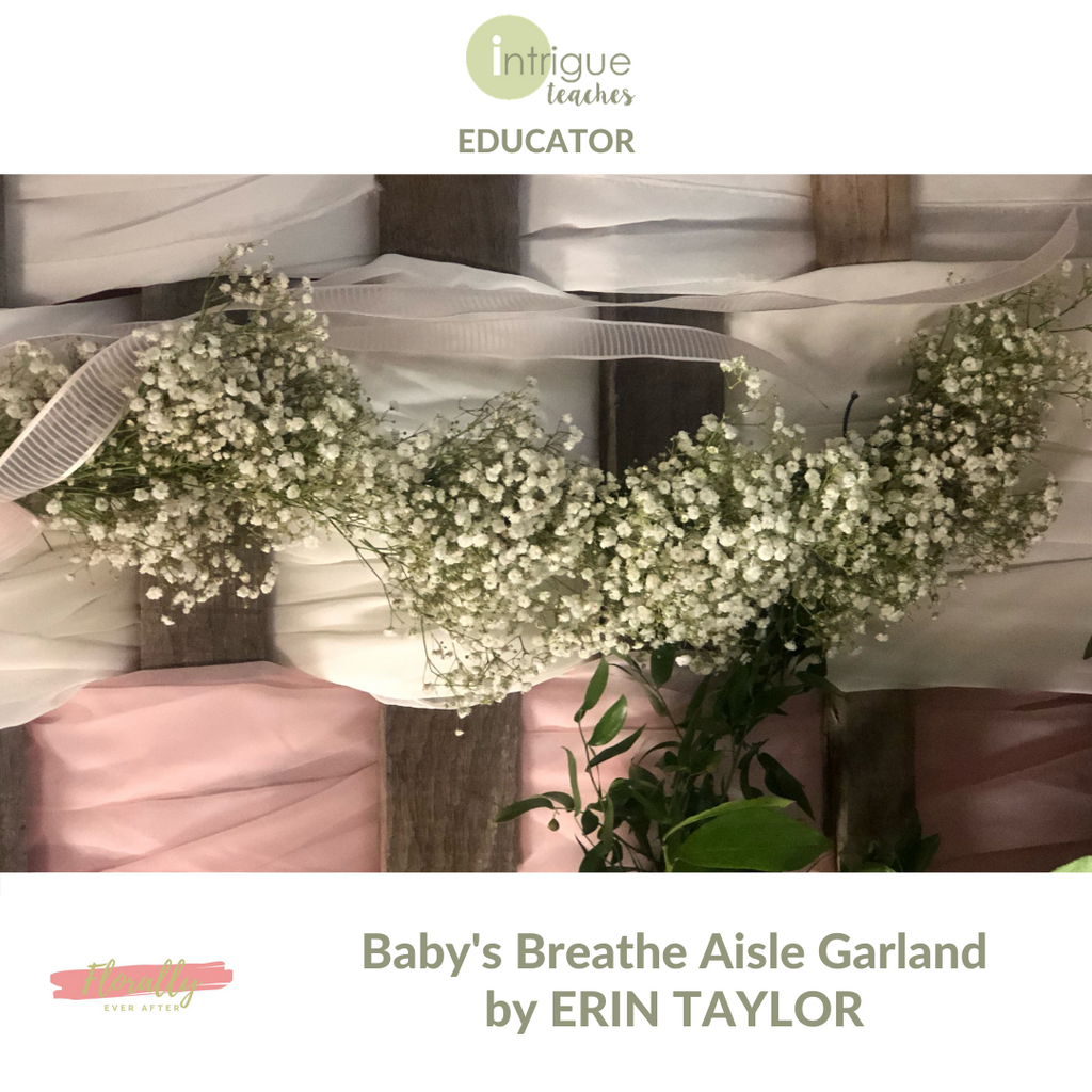 Aisle Garland with Baby's Breath