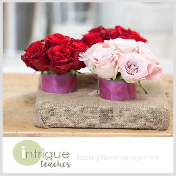 Floating Flower Arrangement