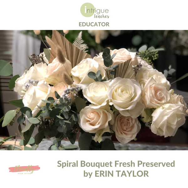 Spiral Bouquet Fresh Preserved