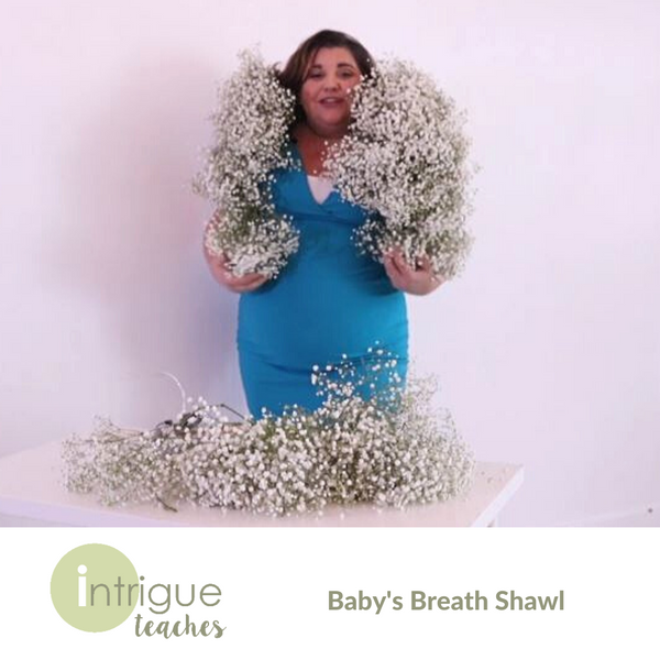 Baby's Breath Shawl