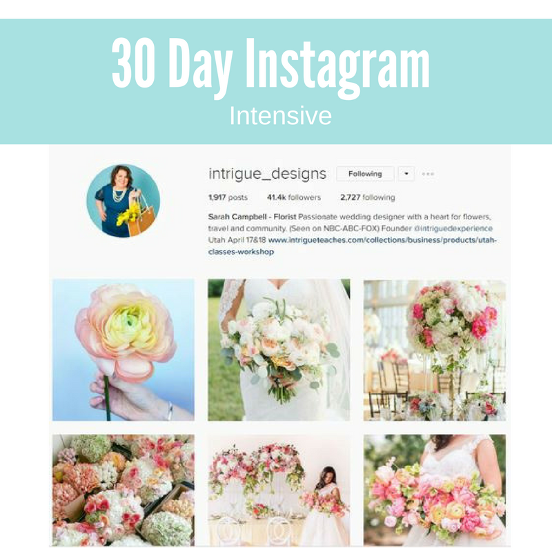 30 Day Instagram Focus
