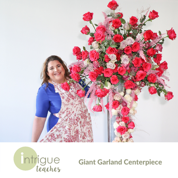 Giant Garland Centerpiece