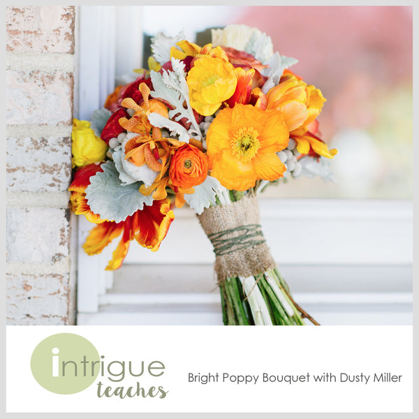Bright Poppy Bouquet
