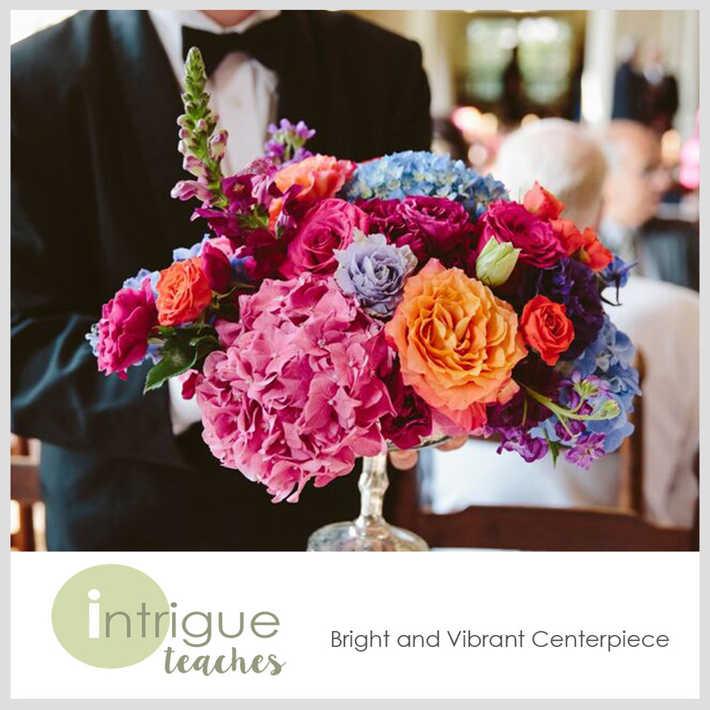 Bright and Vibrant Centerpiece