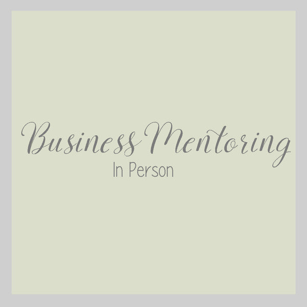 Mentoring (In Person)