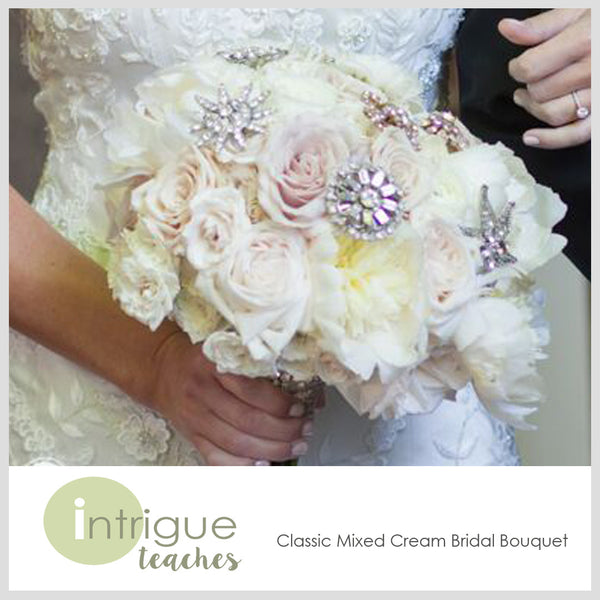 Classic Mixed Cream Bridal Bouquet