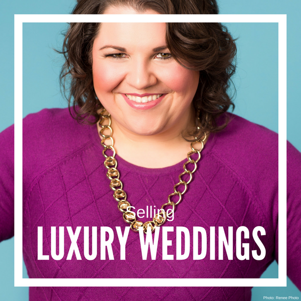 2. Selling Luxury Wedding Sales for Designers