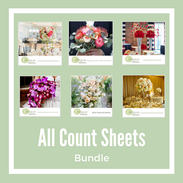 All Count Sheets - Bundle