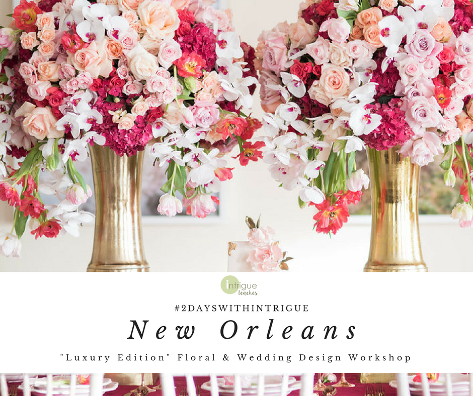 New Orleans - Luxury Design Workshop - July 2018