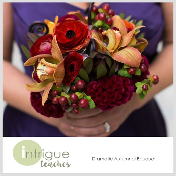 Dramatic Autumnal Bouquet