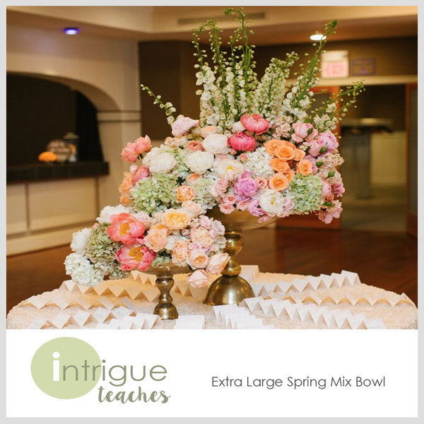 Extra Large Spring Mix Bowl