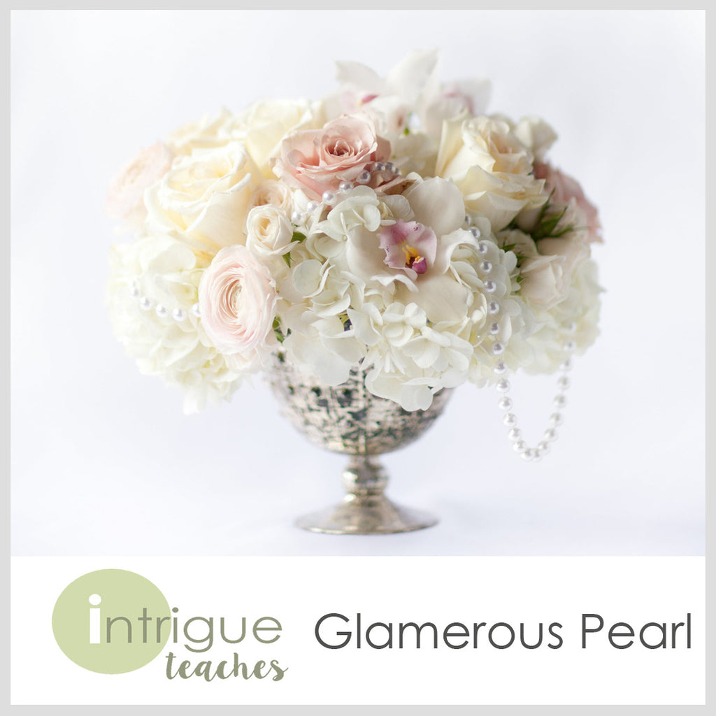 Glamorous Pearl Centerpiece