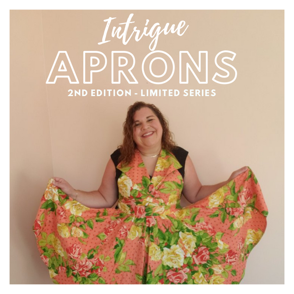 Intrigue Apron  SOLD OUT