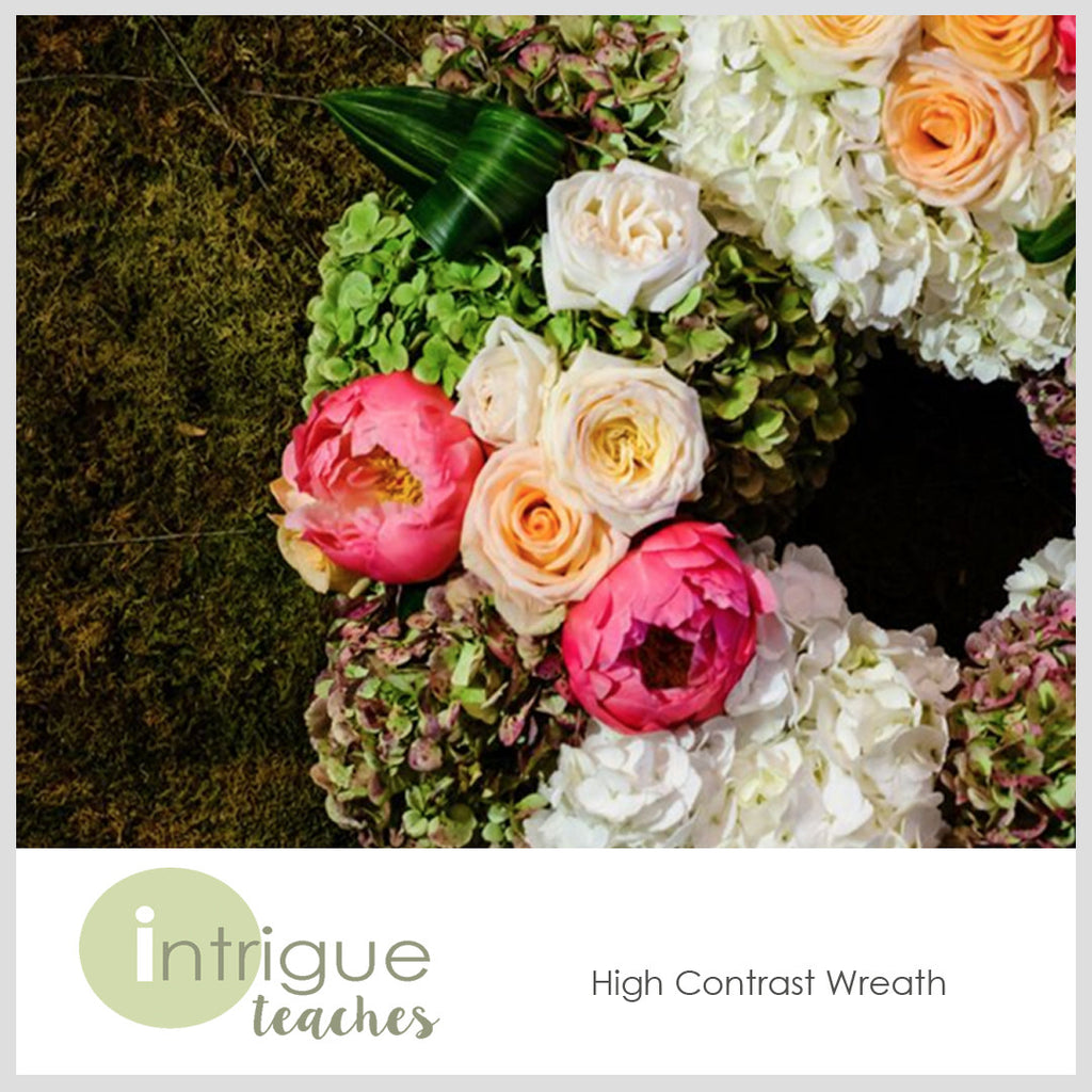 High Contrast Wreath