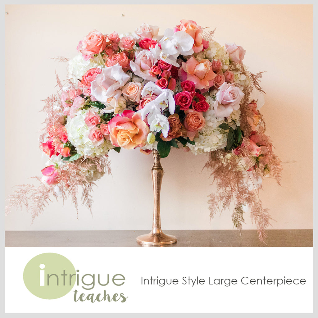 Intrigue Style Large Centerpiece