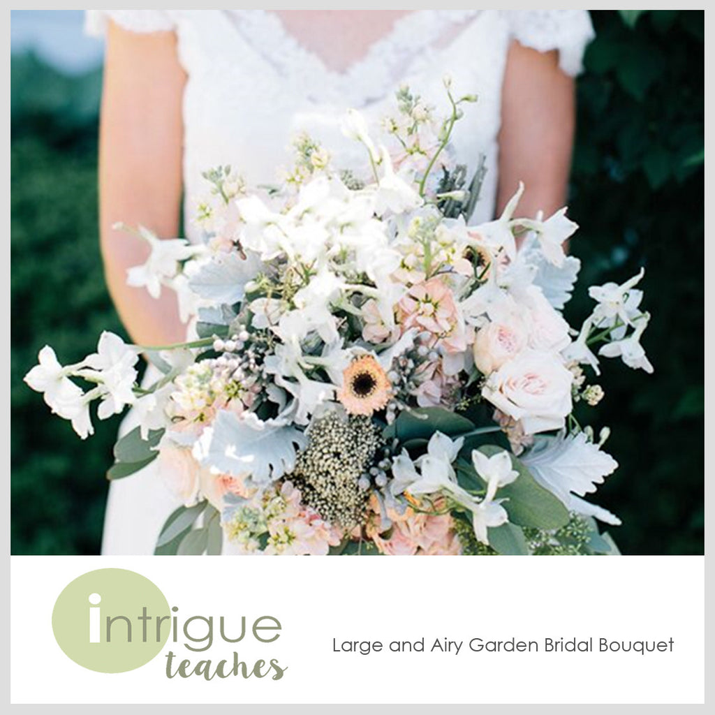 Large & Airy Garden Bridal Bouquet