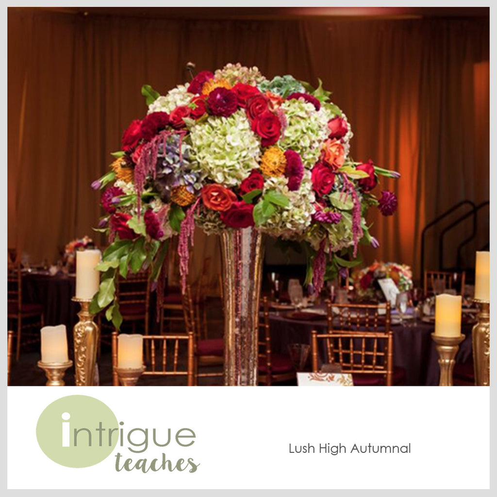 Lush High Autumnal Centerpiece