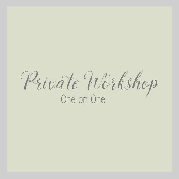 Private Workshop: One-on-One