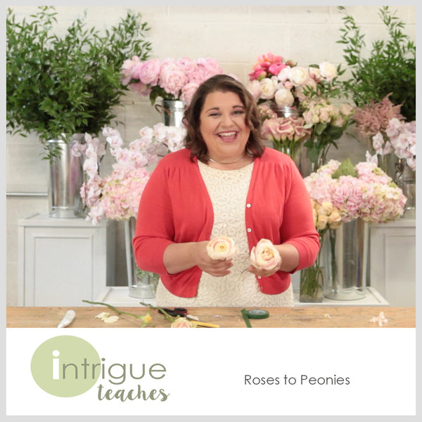 1. Roses to Peonies Tutorial