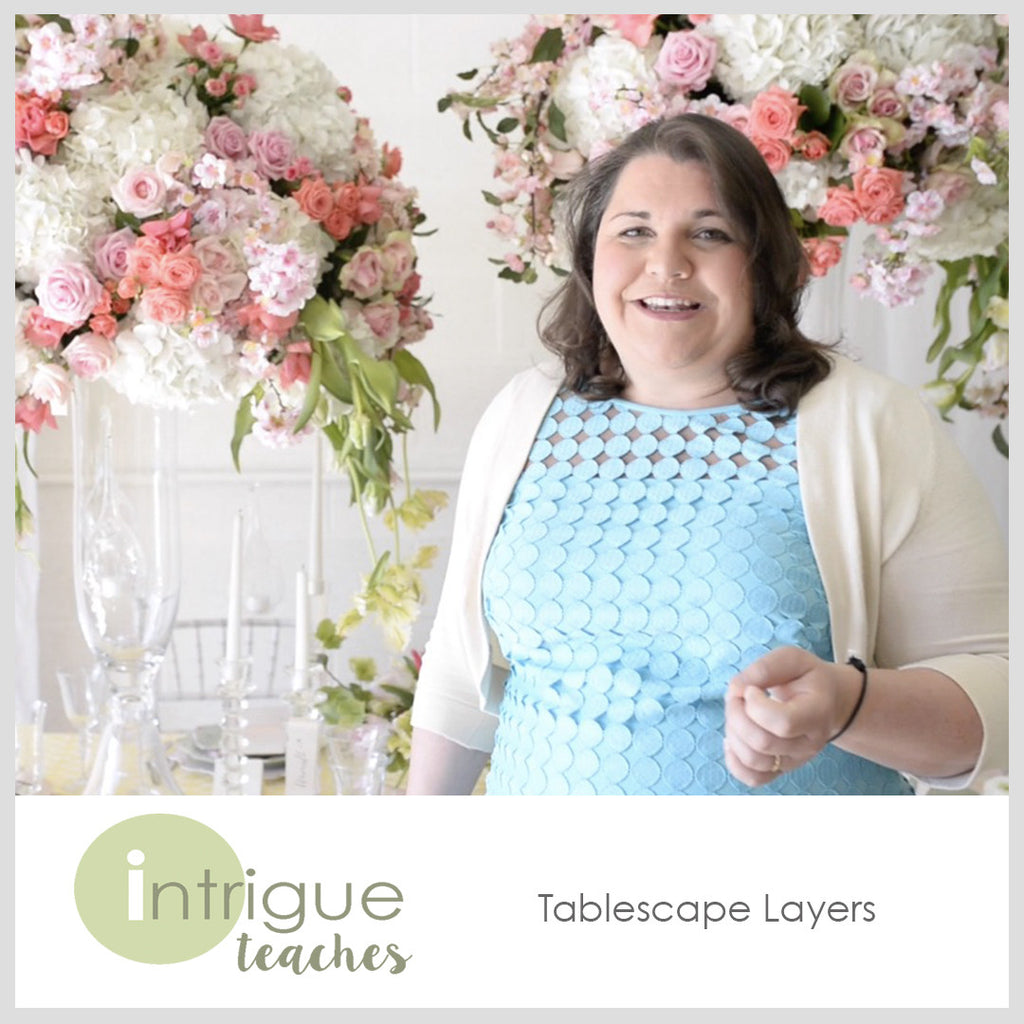 Quick Tip- Tablescape Layers