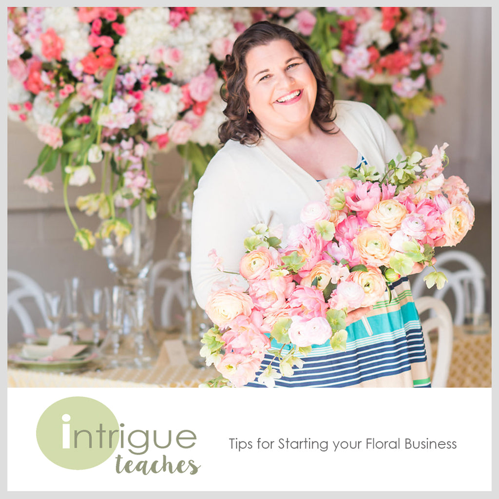 Tips for Starting your Floral Business (FREE DOWNLOAD)