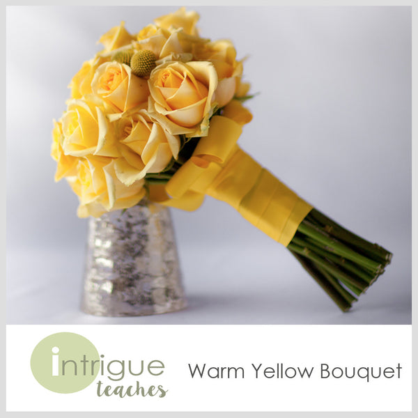 Warm Yellow Bouquet