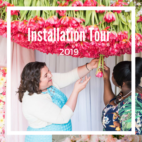 Tour: Floral Installations