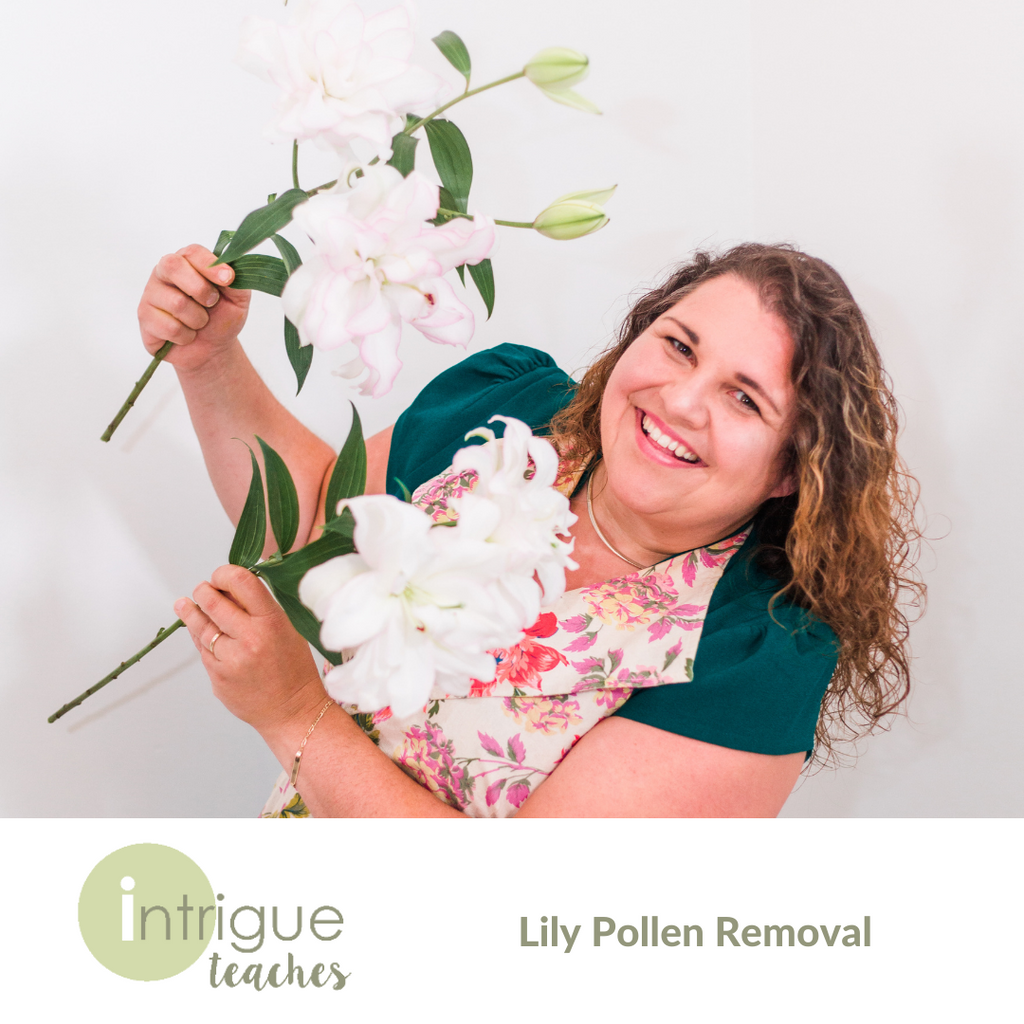 Lily Pollen Removal