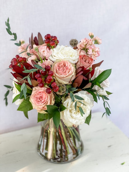 Spiral Hand-Tied Bouquet