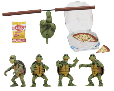 Teenage Mutant Ninja Turtles (1990 Movie) - 1/4 Scale Action Figures - Baby Turtles Set
