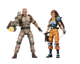 "Alien vs Predator (Arcade Appearance) - 7"" Scale Action Figures - Dutch & Linn 2-Pack"