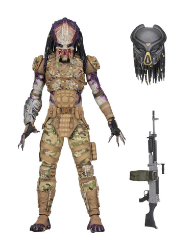 "Predator (2018) - 7"" Scale Action Figure - Ultimate Emissary #1"
