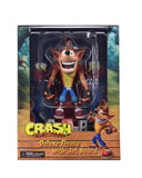"Crash Bandicoot - 7"" Scale Action Figure - Deluxe Crash with Jet Board"