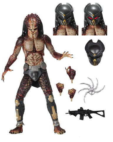 "Predator (2018) - 7"" Scale Action Figure - Ultimate Fugitive Predator (Lab Escape)"