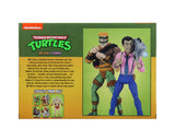 "Teenage Mutant Ninja Turtles (Cartoon) – 7"" Scale Action Figure – Rat King & Vernon 2 pack - International Shipping Only"