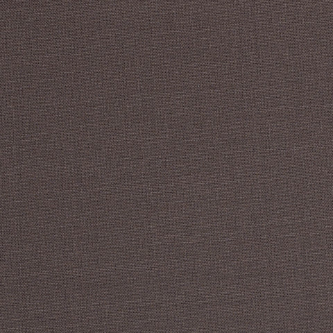 Coffee Brown Plain Topaz Suiting Cashlux 150
